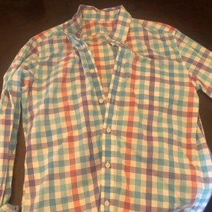 Button down casual shirt from jcrew